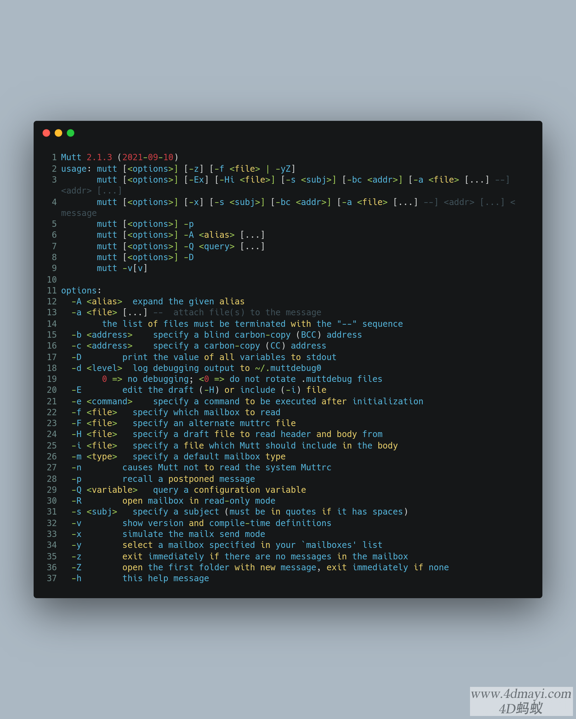 Ubuntu下编译安装最新版Mutt v2.1.3